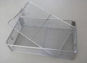 Barato A Esterilização em Aço Inoxidável Cesto de Malha Metálica