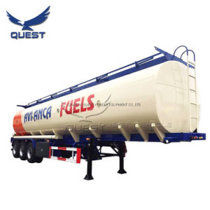 Depósito de transferencia de aceite de palma de aceite combustible semi-remolques remolque cisterna