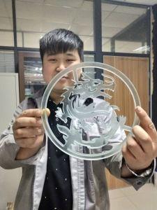 Machine de découpe de métal de pierre portable jet d'eau en verre de machine de découpe jet d'eau Prix