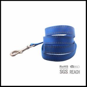 Durable correa de nylon con costura de perro material reflectante