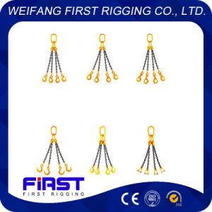 G80 liga de aço cordames de elevação uma perna/ duas pernas/ Três pernas/ quatro pernas a linga de corrente