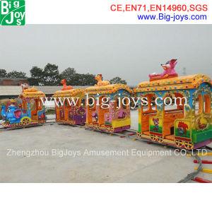 As crianças do Parque de Diversões Eléctrico Passeios de trem, trem de luxo para as crianças (BJ-ET18)