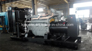 750kVA gerador silenciosa acionado por motor diesel Perkins (4006-23TAG2A)