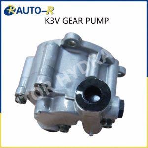 K3V112Bomba de engranajes hidráulicos paraexcavadoras Kawasaki