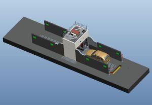 Рентгеновский сканер на рентгеновской установке сканирование портов машины для автомобилей и микроавтобусов
