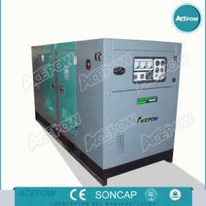 35kw / 45kVA 50Hz trois faible bruit de la phase de groupe électrogène diesel
