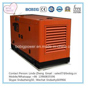 100kw 125kVAの電気防音のおおいの開いたタイプディーゼル発電機セット