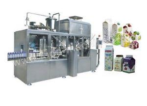 O leite UHT máquina de embalagem totalmente automática