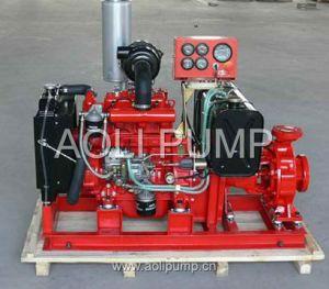 Motopompa antincendi diesel di Xbc (tipo manuale)