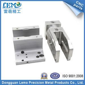 Parti di alluminio di CNC di precisione lavorando con la superficie che anodizza (LM-0008A)