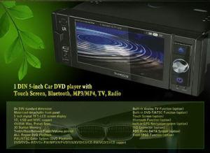 접촉 스크린, Bluetooth (TX-590)를 가진 1명의 DIN 5 인치 차 DVD 플레이어