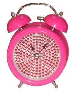 Horloge d'alarme de Bell en métal (KV204b-1)