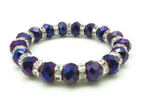 Regalo fatto a mano di promozione del braccialetto dei monili del braccialetto dei monili di vetro della perla