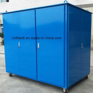 Tipo incluso mobile purificatore dell'olio isolante dell'olio del trasformatore (ZYM-50) del rimorchio