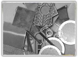 스크린 조각, 플라스틱 입자 여과기