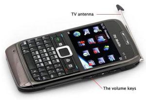 Fernsehapparat-Handy (E71)