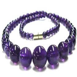 Het Amethist van de Juwelen van de manier parelt Halsbanden