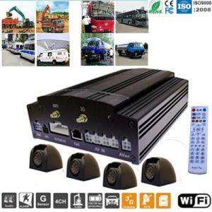 im Freienkamera 4CH mit beweglichen DVR Installationssätzen der Realzeitaufnahme-(SDM605)