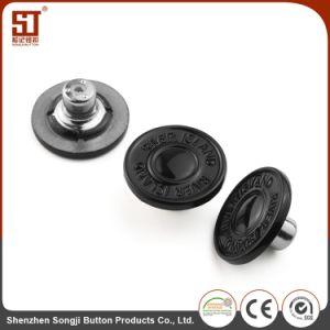 ジーンズのための簡単なMonocolorの方法金属のカスタムボタン