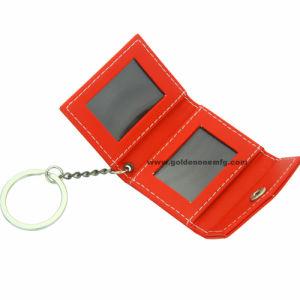 승진 최신 판매 가죽 사진 프레임 열쇠 고리 (LK2029)