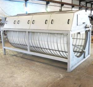 Filtro de Tela do tambor para resíduos sólidos provenientes de sistemas Aquacultue (HXGLQ1608H)
