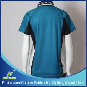 Sublimación personalizado y de la empresa Polo uniforme escolar