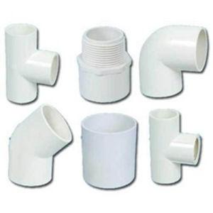 PVC排水の管90の肘PVC管付属品の配水管