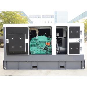 Cummineエンジン6bt5.9-G2の防音機構のKeypowerの産業発電機100kVA