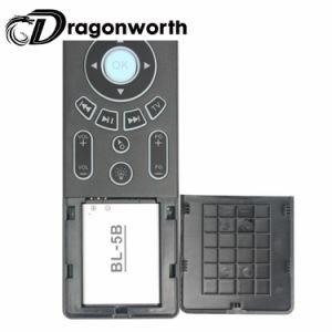 音楽的なキーボードT6によってバックライトを当てられる白い無線キーボードタッチパッド完全なScreeen