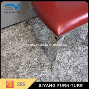 O mobiliário moderno banquetes cadeira sofá de couro vermelho cadeira fantasma