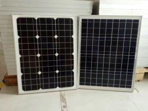 Panneau solaire pliable connecter des équipements