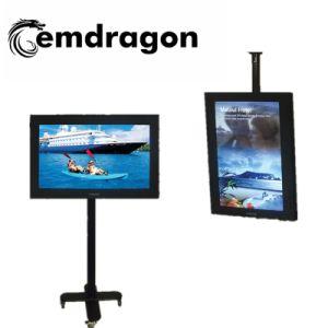 Plancher de la publicité Ad permanent video player joueur publicité 1080 de 43 pouces HD Media Player Mobile Advertising LED de signalisation numérique