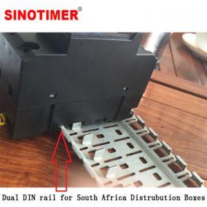30A Interruptor do temporizador Geyser Digital de carga com trilhos de dupla para a África do Sul