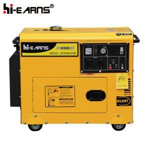 gruppo elettrogeno diesel di potere di inizio automatico 5kw (DG6500SE+ATS)
