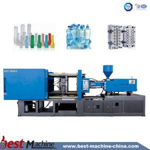 プラスチックプレフォームの射出成形機械