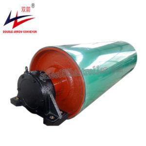 Bandförderer-überkronende Gummi beschichtete Laufwerk-Trommel-Riemenscheibe
