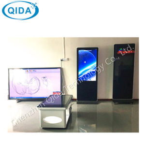 55 Zoll im Freien Innen-LCD Bildschirmanzeige-Monitor-Digitalsignage-Kiosk bekanntmachend