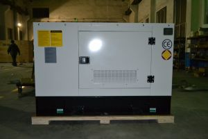 Бесшумный тип 16 ква звуконепроницаемых электроэнергетических установок с водяным охлаждением небольшой промышленный дизельный генератор для Чили рынка