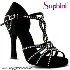 Suphini Bravo Leopard Mujer Zapatos de baile latino de diferentes colores cómodos zapatos de baile de salsa latina