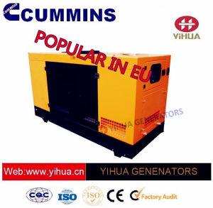 41.5 KVA-schalldichter Dieselgenerator mit Cummins-Energien-Cer-Zustimmung [IC180302f]