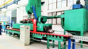 LPGのガスポンプの製造業ラインショットブラスト機械