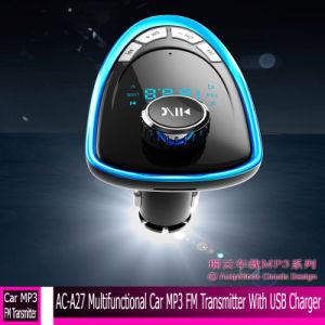 AC-A27 Многофункциональный Автомобильный MP3, FM-передатчик с помощью зарядного устройства USB