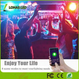 Alexa Tuya intelligenter LED Scheinwerfer des APP-SteuerGU10 RGB WiFi