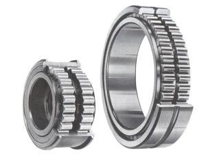 Fileira Dupla Cylindrial não alinhando separados os rolamentos de rolete