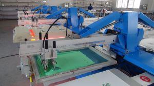 의복 기계를 인쇄하는 타원형 자동적인 직물 스크린에 지시하십시오