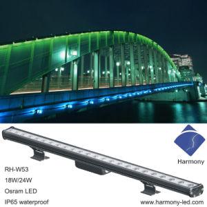 Multl-Color de alta potencia el cambio de la luz de las arandelas de pared LED RGB IP65