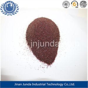 De Schuurmiddelen van het zandstralen/Zand 30/60 van de Granaat van Almandite/van de Rode Kleur/van de Leverancier Koc voor het Vernietigen van Metaal