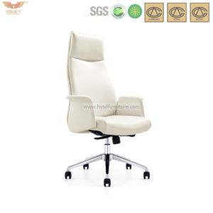 Mordenの白い人間工学的の革高いバックオフィスの主任CEOの椅子(HY-196)
