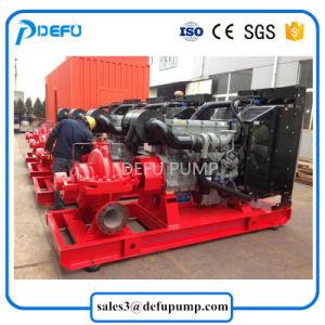 Moteur Diesel horizontal Split cas listés UL de la pompe incendie