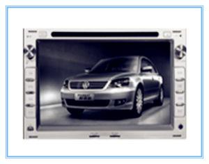 VW Passat (Black&Silver)를 위한 GPS Navigation System